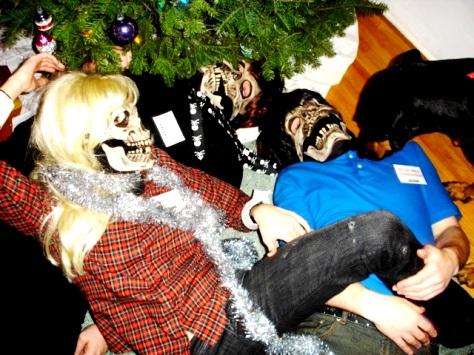 Fucking under the christmas tree