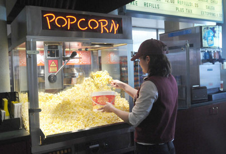 Retail Hell The Book Movie Theater Hell Crazy Popcorn Lady