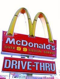 Mcd's drive thru
