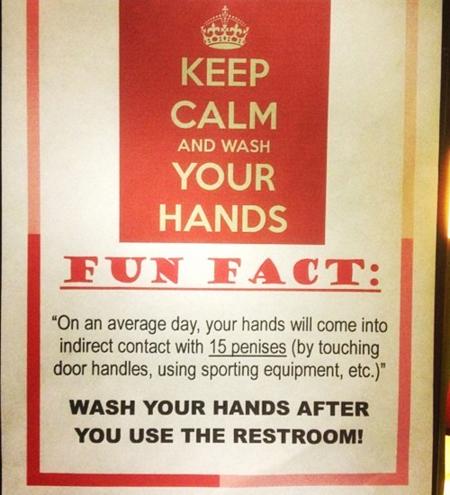 Bathroomsignage