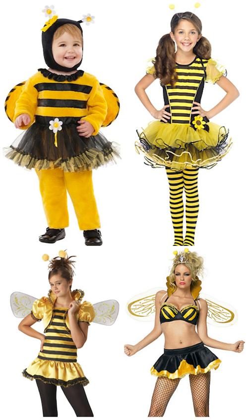 evolution of a halloween queen bee evolution