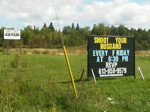 Paintballsign