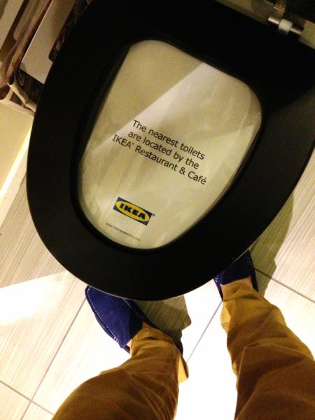 Ikeatoiletsignage