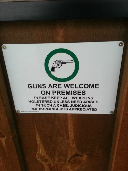 Gunsignage