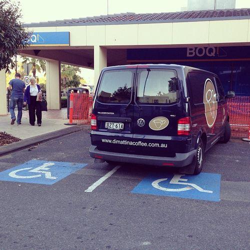 Parkingdouche
