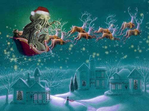 Christmas Carol Carnage: Cthulhu Claus