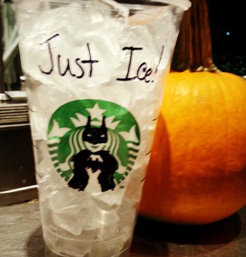 12238e44c2318 Retail Hell Underground  Just Ice At Starbucks   Batman
