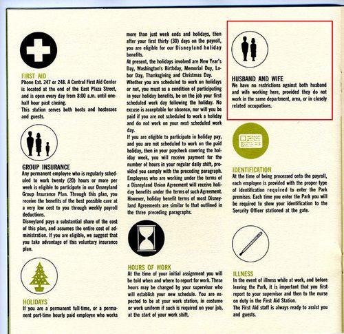 Retail Hell Underground: 1965 Disneyland Employee Handbook