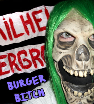 Burger bitch purple