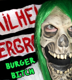 Burger bitch green