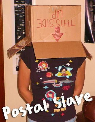Postal slave
