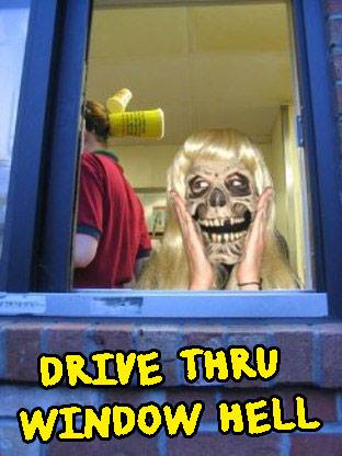 Drive through hell