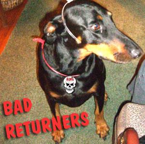 Bad returners