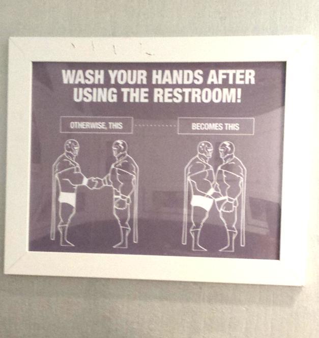 Taco. Retail Hell Underground  Taco Shop Bathroom Signage Explains Why