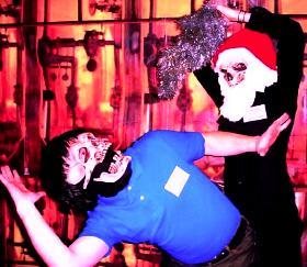 Santa Skull Stab 2