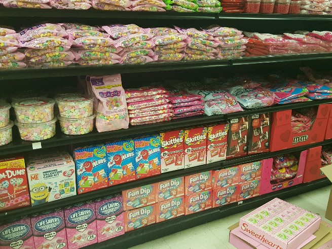 retail hell underground: valentine's day creep: another grocery, Ideas