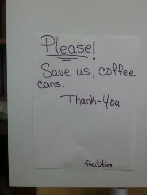 Coffeecans