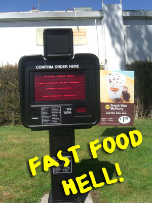 fast food and vending machines arent the problem essay Of teenagers are not able to do the same, so the problem of obesity childhood obesity essay the causes every corner at vending machines, fast food.