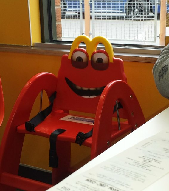 Fast Food Funnies: McDonaldu0027s High Chair Gonna Get Ya