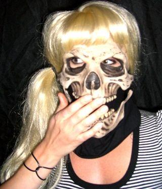 Carolanne cover mouth