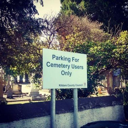 Cementaryparking