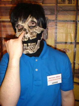 Jason pick nose