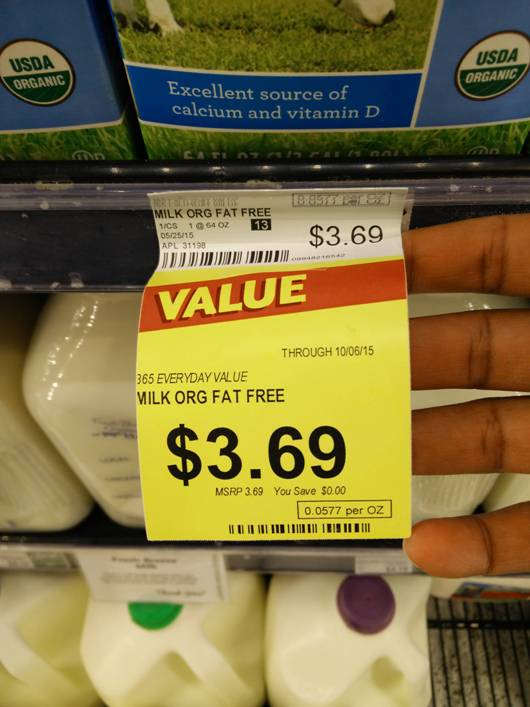 Retail Hell Underground: Sale Fails: What Whole Foods