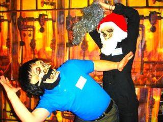 Santa Skull Stab 1