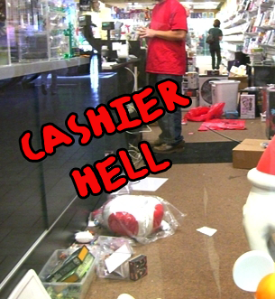 Cashier hell