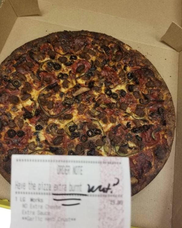 Pizzaburn