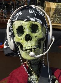 Call center skull 2