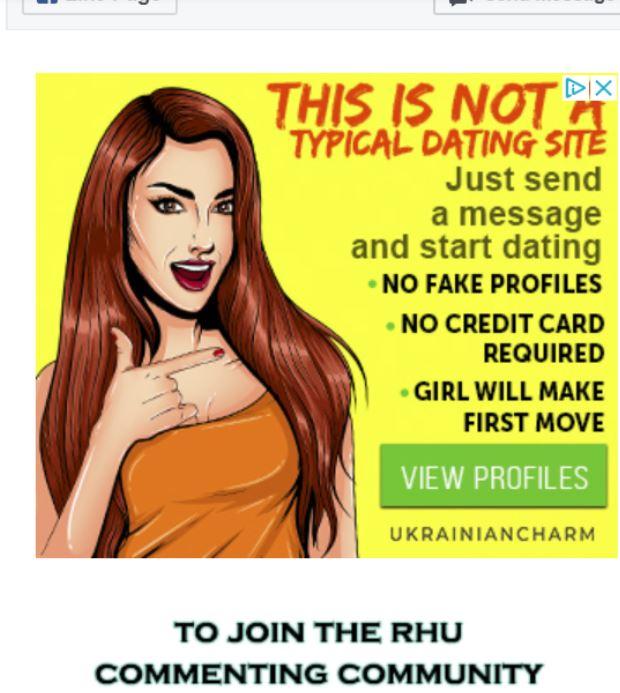 Horrible dating site profiler
