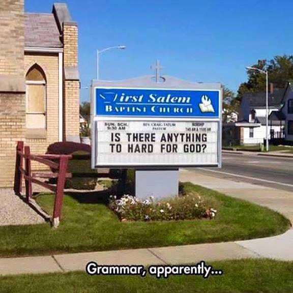Religious grammar