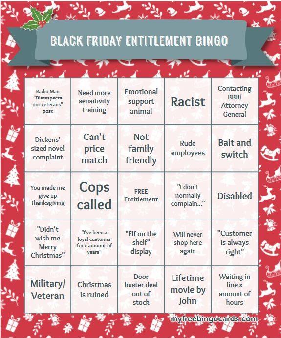 Black friday bingo 1