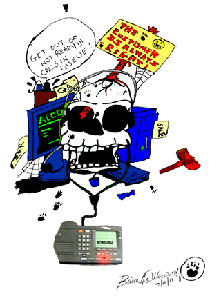 Callcenterskull